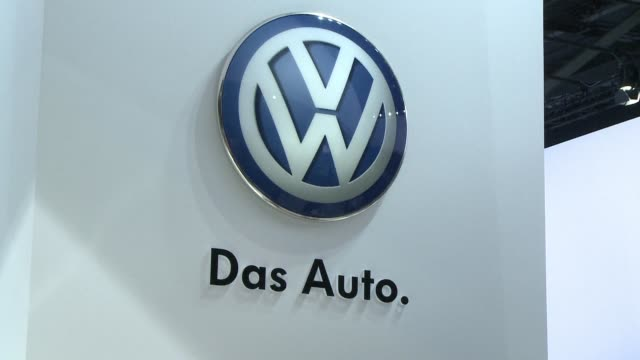 scandalhit volkswagen's own brand sales dropped 5% in 2015 the company says - wolfsburg lower saxony stock videos and b-roll footage