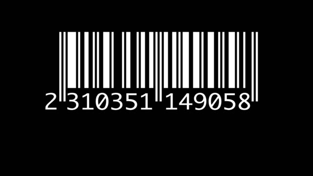 Scanning barcode isolated