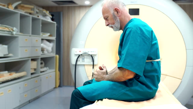 mri scanning procedure 4k - waiting room stock videos & royalty-free footage