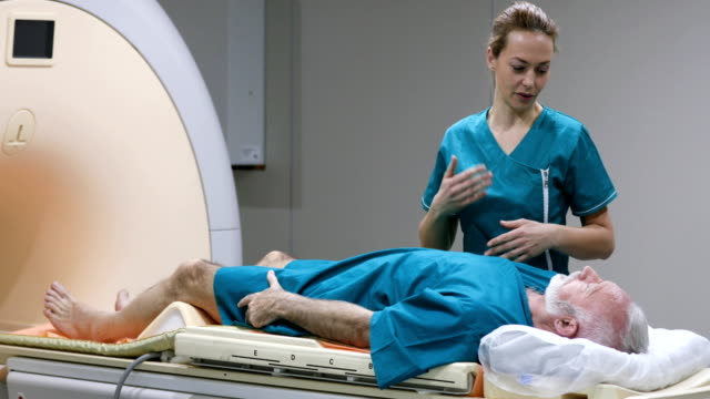 mri scanning procedure. - radiographer stock videos & royalty-free footage