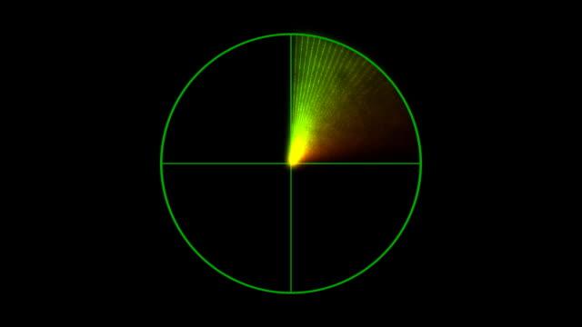 scanning radar - radar stock videos and b-roll footage
