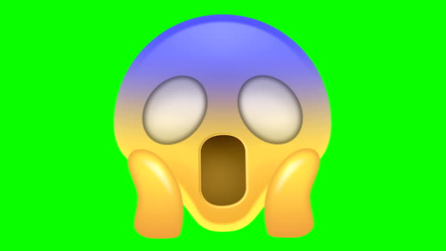 Scared Emoji Stock Footage Video - Getty Images