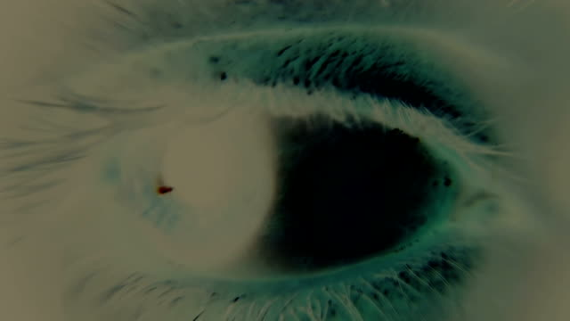 scared human eye - psychedelic stock videos & royalty-free footage