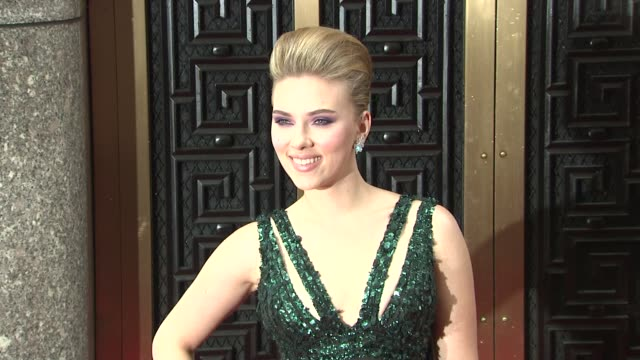Scarlett Johansson at the 64th Annual Tony Awards at New York NY