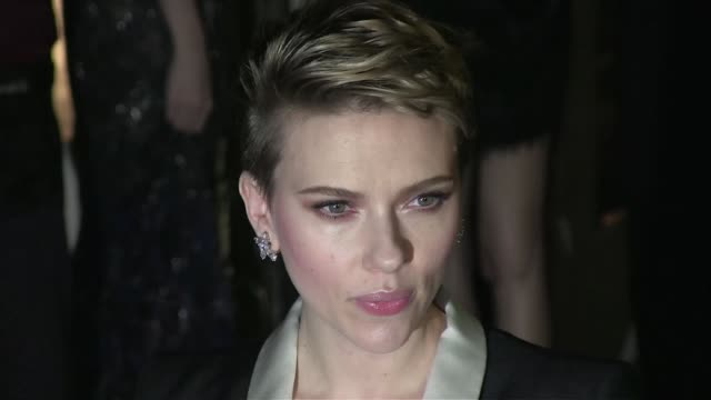 scarlett johansson at the amfar the foundation for aids research kick off new york fashion week with its annual new york gala at cipriani wall street... - scarlett johansson stock videos and b-roll footage