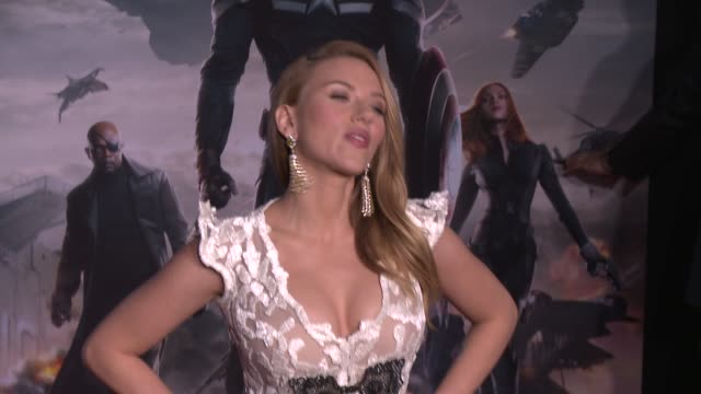 "scarlett johansson at the ""captain america: the winter soldier"" los angeles premiere at the el capitan theatre on march 13, 2014 in hollywood,... - premiere stock videos & royalty-free footage"