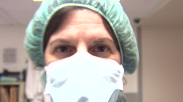 scary close up of medical personnel - surgeon stock videos & royalty-free footage