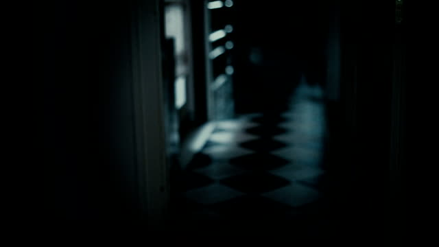 scary house hallway high definition - horror stock videos & royalty-free footage