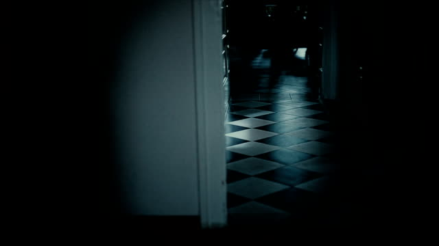 scary house hallway high definition - dark stock videos & royalty-free footage