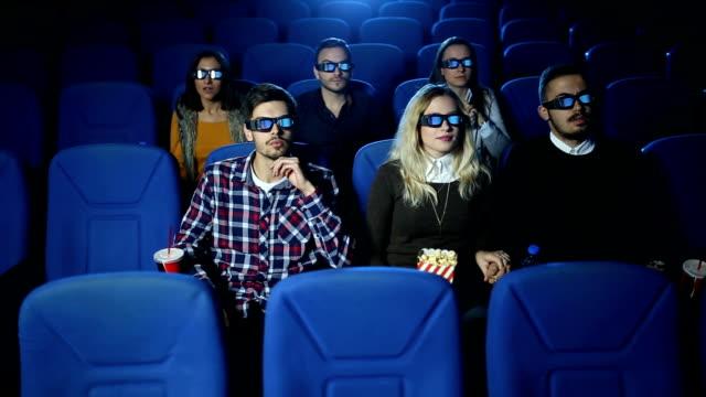 怖い映画 - 3dメガネ点の映像素材/bロール