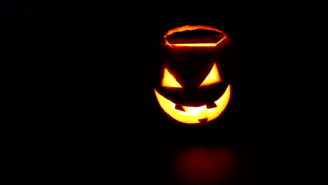 scary old jack o lantern - jack o' lantern stock videos and b-roll footage