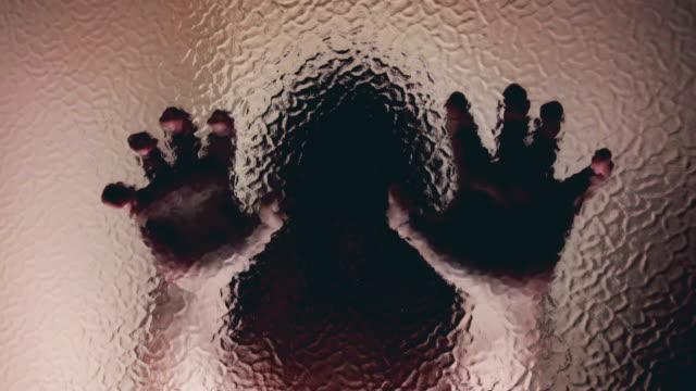 怖い女性 - 恐怖点の映像素材/bロール