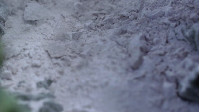 scattering of limestone powder in papua new guinea - limestone stock videos & royalty-free footage