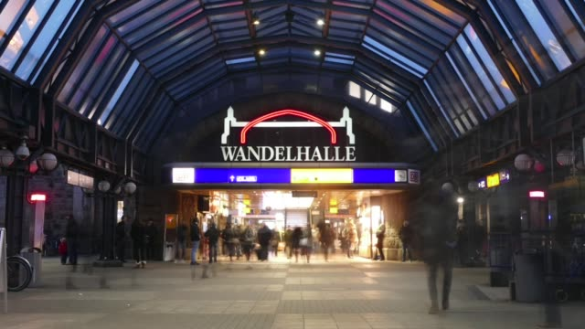 scene from germany europe of train station - hesse germany stock videos and b-roll footage