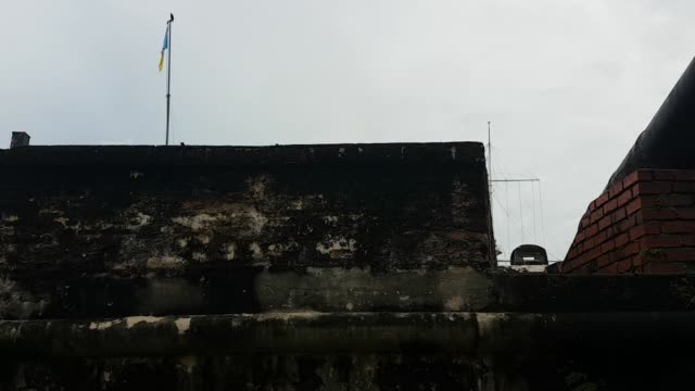 Scene from Penang Malaysia South East Slow Asia Motion PAN Fort Cornwallis Fortress guns walls keep