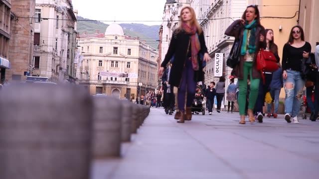 A scene from Sarajevo