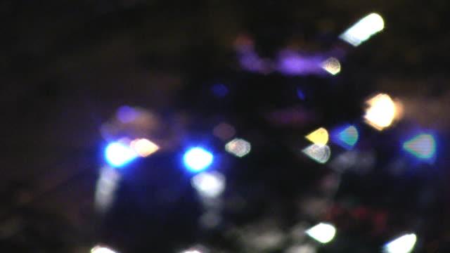stockvideo's en b-roll-footage met scene of an accident (hd) - noodverlichting