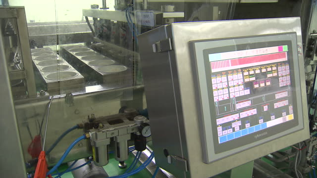 Scene of Food Processing Plant on instant rice