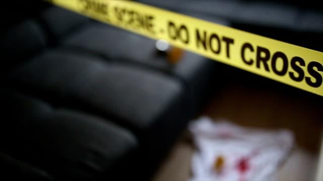 シーンの犯罪 - 証拠点の映像素材/bロール
