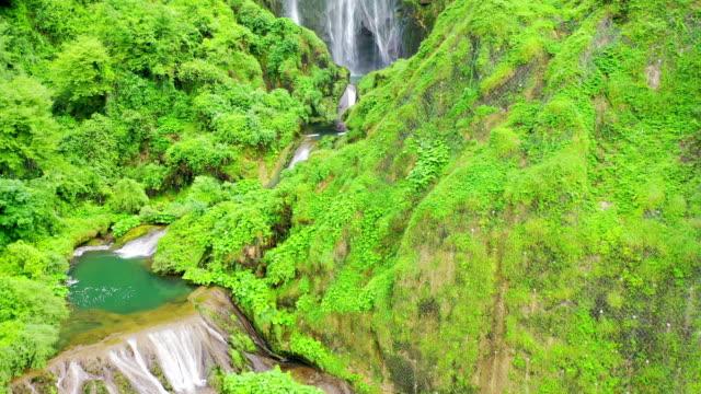 scenery of cascata delle marmore (artificial falls) / terni, italy - cascata stock videos and b-roll footage