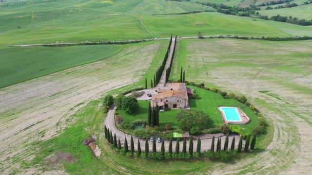 scenery of genna borborini maria eva / tuscany, italy - toscana video stock e b–roll