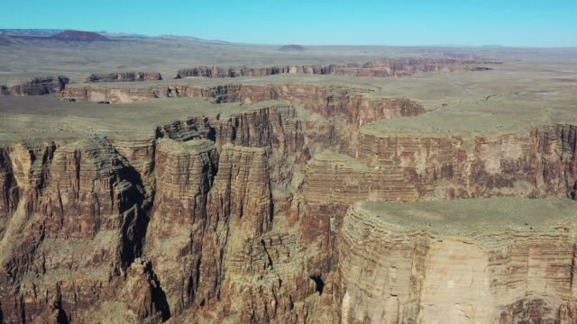 scenery of grand canyon national park / arizona, usa - 岩肌点の映像素材/bロール