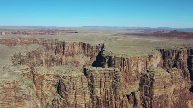 vídeos de stock, filmes e b-roll de scenery of grand canyon national park / arizona, usa - grand canyon