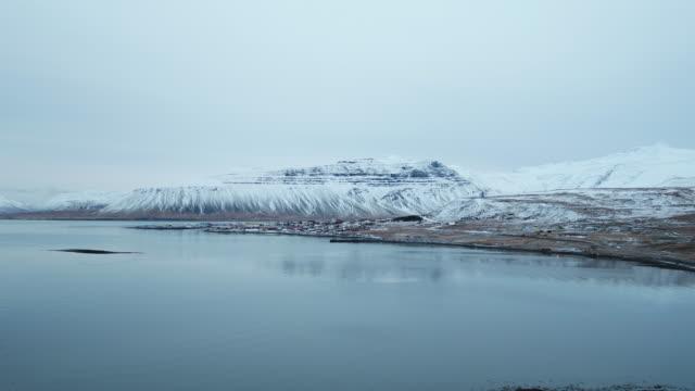 scenery of kirkjufell (church mountain) - coastline stock videos & royalty-free footage