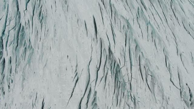 scenery of skaftafell glacier, iceland - naturwunder stock-videos und b-roll-filmmaterial