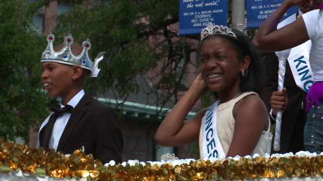 wgn scenes at the 2017 bud billiken parade in chicago on august 12 2017 - bud stock videos & royalty-free footage