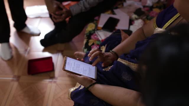 scenes from customer's house during transaction with rupeek fintech company, mumbai, maharashtra, india, on wednesday, september 18, 2019. - receipt stock videos & royalty-free footage