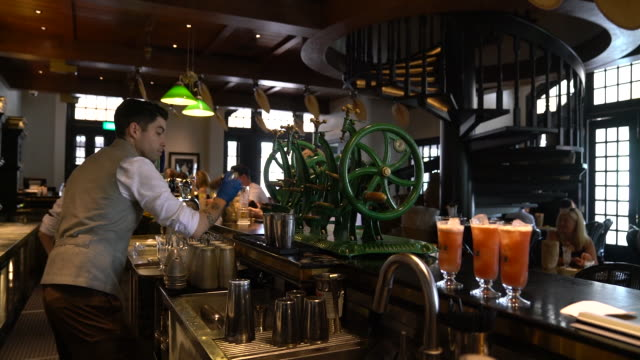 scenes from raffles hotel outdoors and indoors, singapore city, central singapore, singapore, on tuesday, september 10, 2019. - raffles city stock videos & royalty-free footage