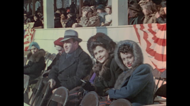 Scenes from the third inauguration of President Franklin Roosevelt