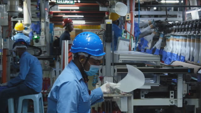 scenes from top glove corp factory where protective rubber gloves are produced worlds biggest glovemaker got vote of confidence from investors in... - latex stock videos & royalty-free footage
