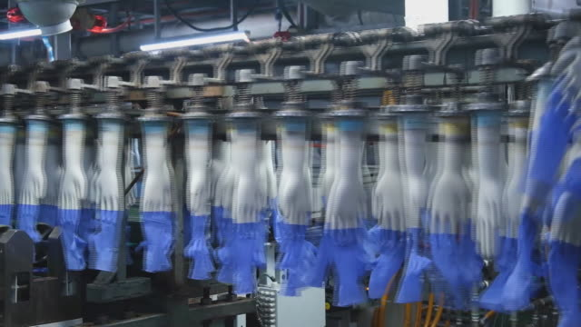scenes from top glove corp factory where protective rubber gloves are produced worlds biggest glovemaker got vote of confidence from investors in... - rubber glove stock videos & royalty-free footage