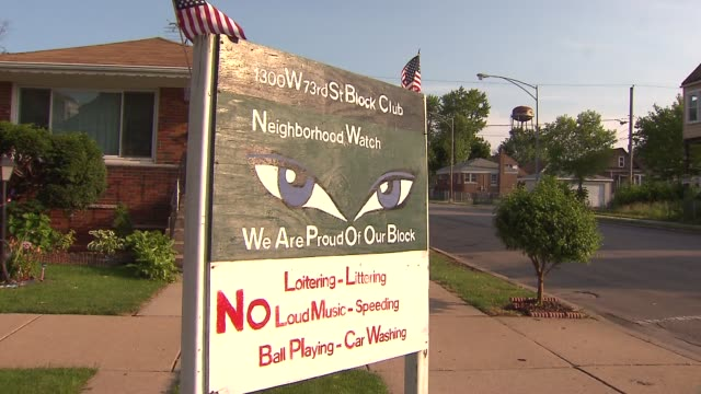 WGN Scenes In Chicago's Englewood Neighborhood including boardedup houses and businesses vacant lots and signs on July 6 2015