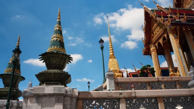 scenes inside the grand palace complex, bangkok, thailand, southeast asia - bangkok stock videos & royalty-free footage