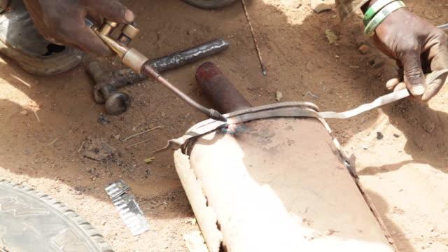 scenes of daily life in nigeria - jos nigeria stock videos & royalty-free footage
