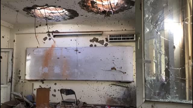 scenes of devastation at kabul university a day after attackers stormed it, detonated a suicide bomb and sprayed classrooms with bullets in a brazen... - destruction stock videos & royalty-free footage