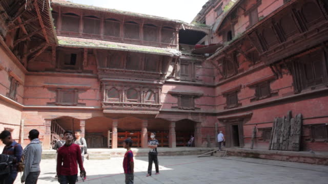 scenes of kathmandu and mount everest, nepal - grounds stock videos & royalty-free footage