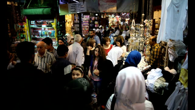 Scenes of peaceful daily life have returned to Damascus Syria following a ceasefire which went into effect at the end of February that is being...