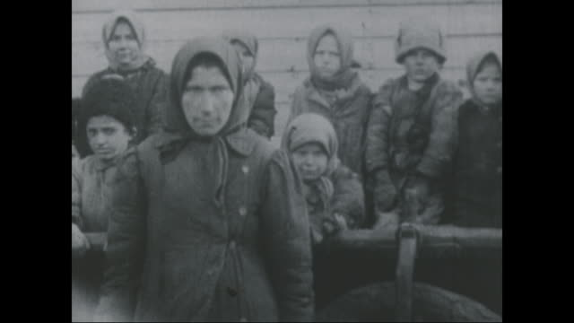scenes of post revolution russia, circa 1918. - russian culture stock videos & royalty-free footage