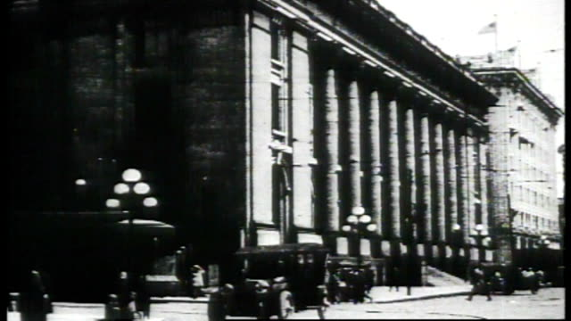 1917 - scenes of seattle - church stock videos & royalty-free footage