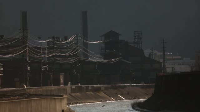 Scenes of the former Bethlehem Steel Corporation Johnstown plant and around town in Johnstown Pennsylvania US April 14 and 15 in 2016 Shots shot of...