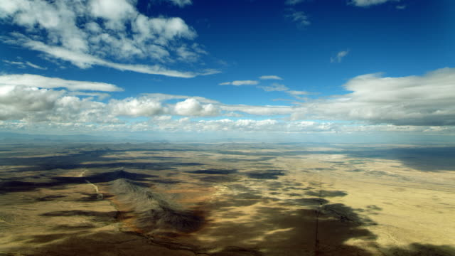 Scenic Aerial Landscape Over New Mexico