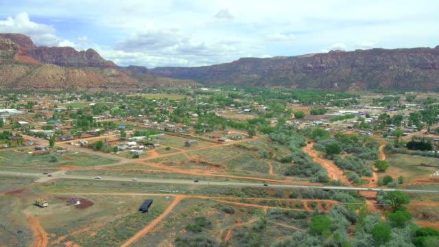 Malerische Luftaufnahmen von Utah, USA