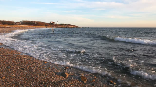 scenic beach - massachusetts stock videos & royalty-free footage