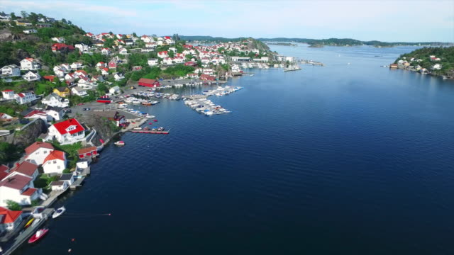 scenic beauty of the kragero coast - telemark stock videos and b-roll footage