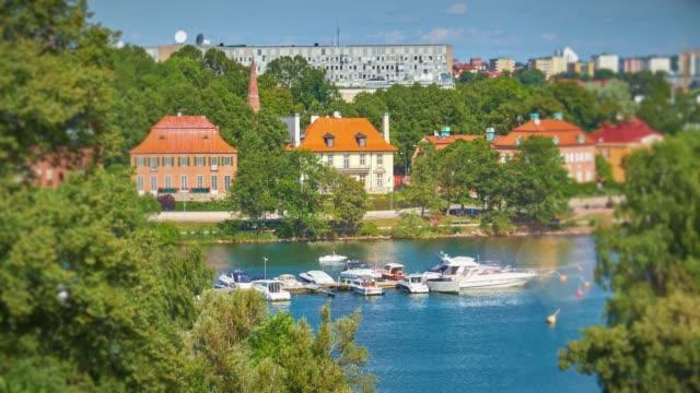 Paisagem cênica de Estocolmo, Suécia