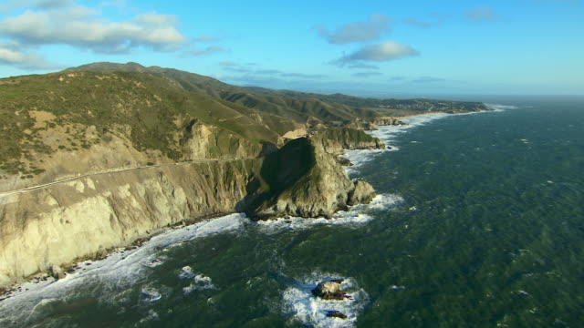 scenic coast in northern california - northern california stock videos & royalty-free footage